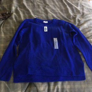 NWT Royal Blue Sweater